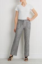 Linen Cross Dye Trousers