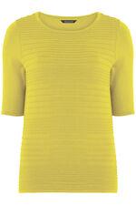 Short Sleeve Ripple Textured Jumper