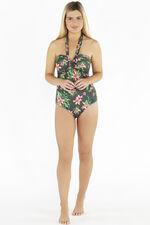 Beachcomber Floral Wrap Swimsuit