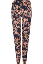 Bold Flower Jersey Harem Trouser