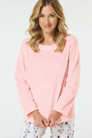 Round Neck Snuggle Top