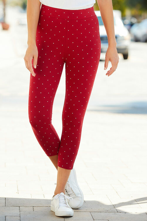 Spot Crop Legging