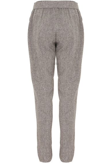 Tie Belted Tapered Trousers