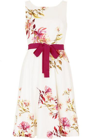 Cotton Floral Prom Dress