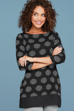 Short Sleeve Spot Tunic