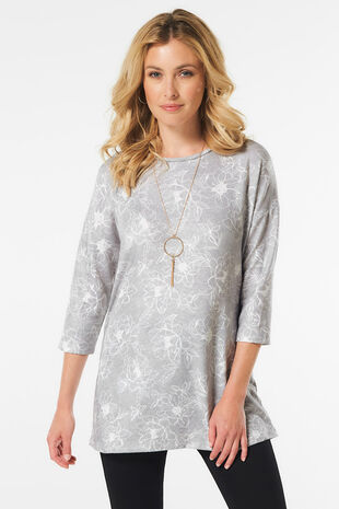 Floral Soft Touch Tunic