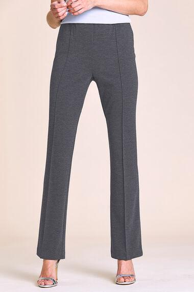 Melange Comfort Waist Trouser