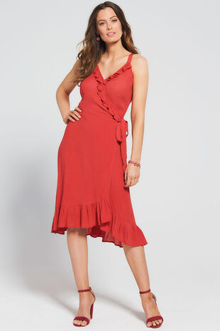 Isla & Rose Lightweight Wrap Dress