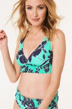 Shirred Bikini Top