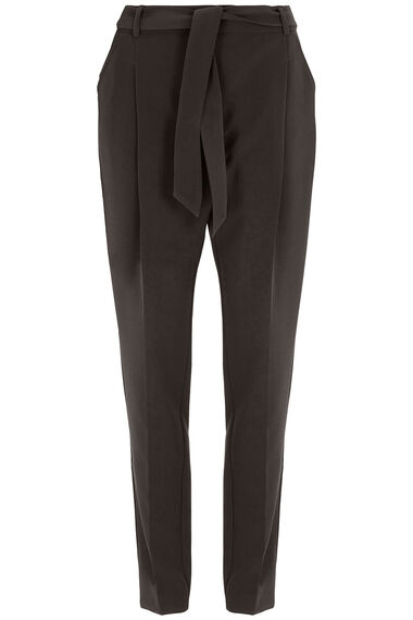 Belted Tapered Trouser