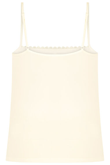 Lace Front Cami Top
