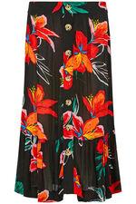 Tropical Crinkle Skirt