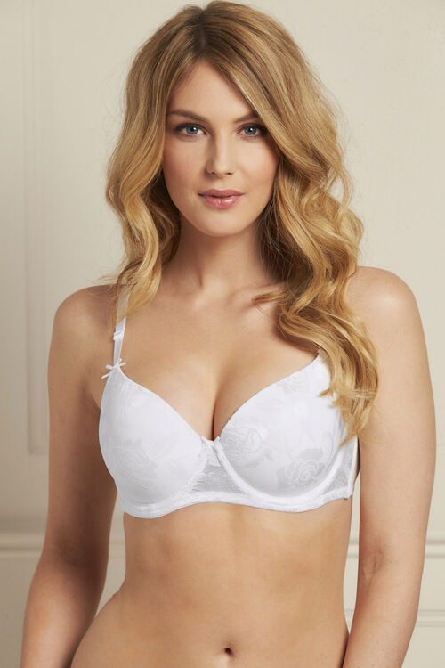 2 Pack Jacquard Underwired Bra