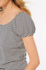 Stripe Gypsy Top
