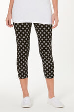 Geo Printed Crop Legging