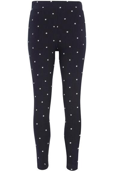 Star Print Legging
