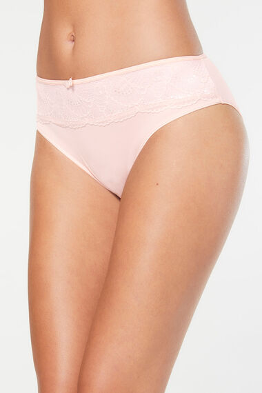 Lace Trim Comfort Brief