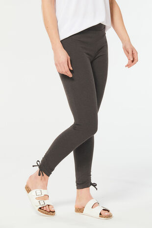 Ruched Hem Detail Legging