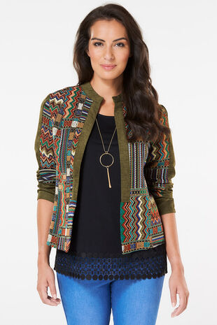 Izabel Patchwork Jacket
