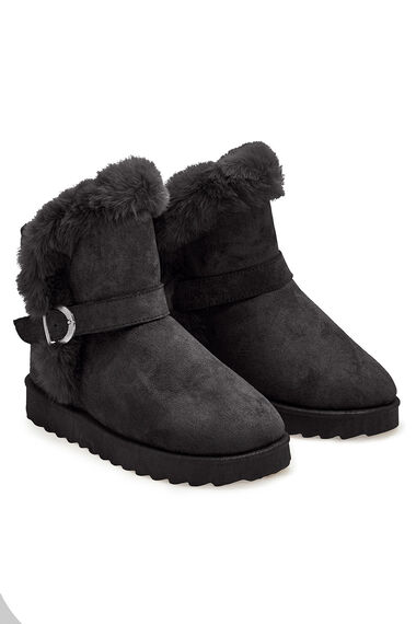 Dr. Keller Faux Fur Lined Pull On Boot