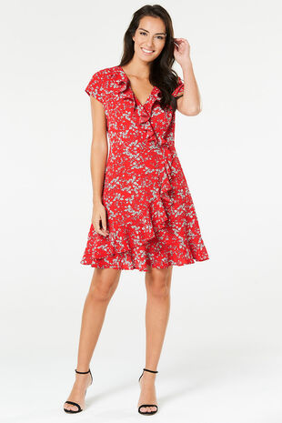 Izabel Ruffle Tea Dress