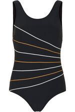 Stripe Detail Swimsuit