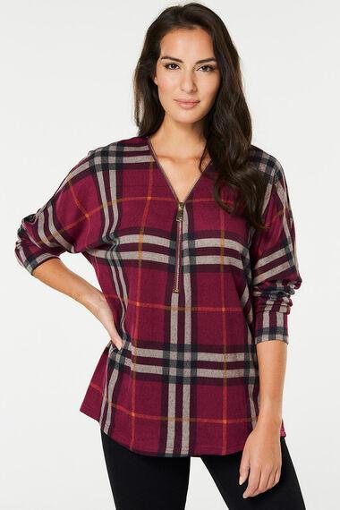 Stella Morgan Check Sweater