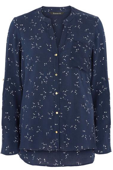 Dandelion Print Woven Shirt