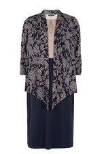 Colour Block 2 in 1 Dress