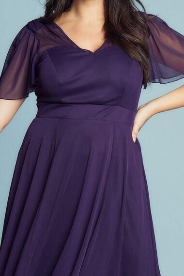 Scarlett & Jo Tilly Angel Sleeve Sweetheart Dress