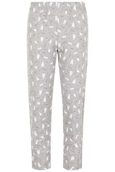 Cat Print Gift Pyjama