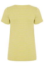 Square Neck Stripe T-Shirt