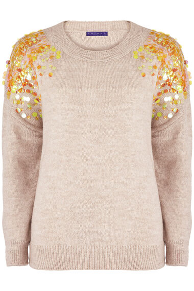 Join Us Sequin Detail Jumper