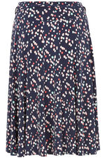 Panelled Spotted Skirt