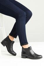 Comfort Plus Leather Chelsea Boot