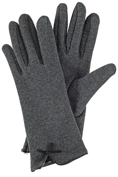 PU Bow Ponte Glove