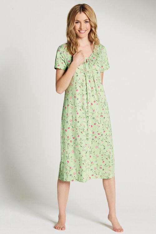 Floral Pin Tuck Nightdress