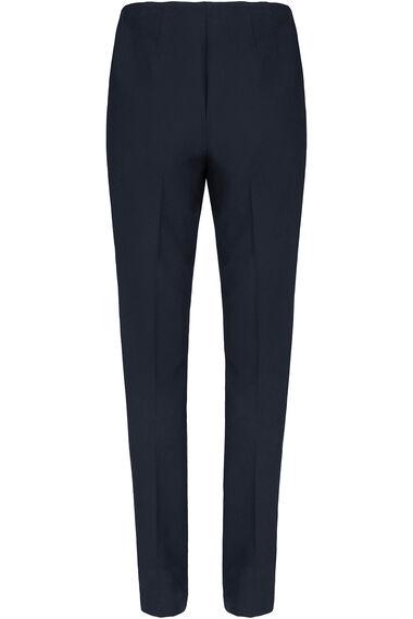 Tapered Leg Side Zip Trouser