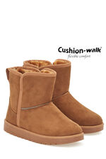 Cushion Walk Faux Shearling Ankle Boot