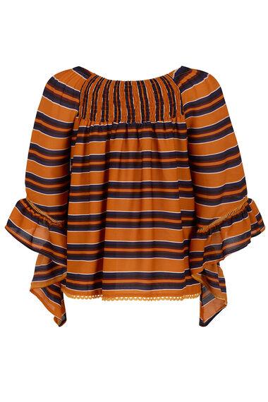 Izabel Frill Sleeve Top