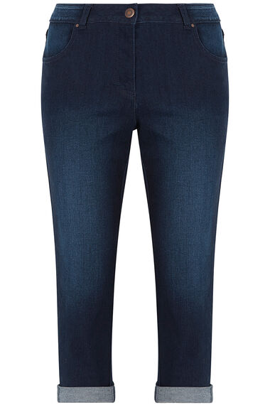 Denim Cropped Trousers
