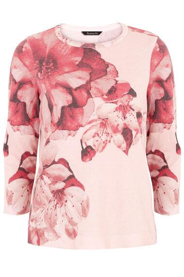 Blossom Print Jumper