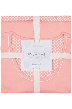 Pink Spot Gift Pyjama