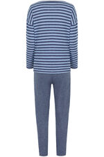 Stripe Top Loungewear Set