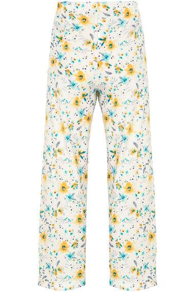 Floral Collar Pyjama Set