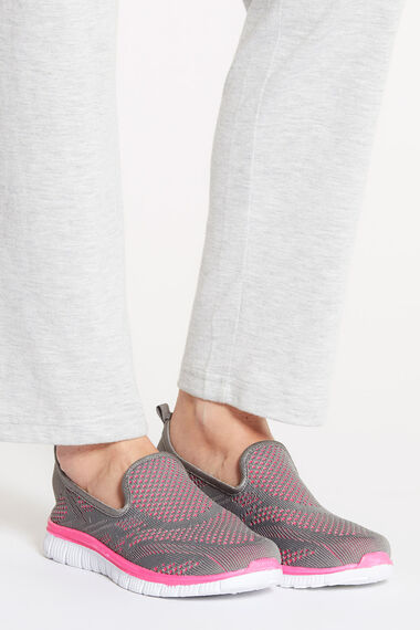 Cushion Walk Slip On Training Shoe