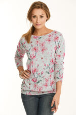 Stella Morgan Soft Touch Floral Print Sweater