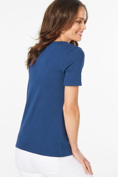 Scoop Neck T-Shirt