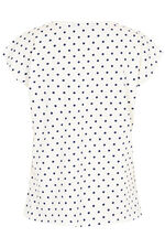 Spot with Floral Bubble Print T-Shirt