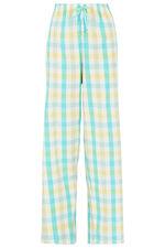 Aqua Check Pocket Pyjama Set